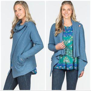 NWT Matilda Jane Envision This Wrap Sweater Sz L